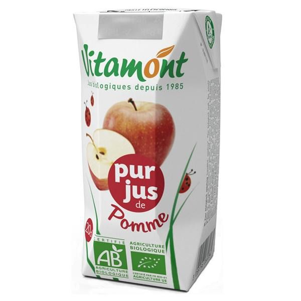 Apple juice vitamont - 6 x 20cl