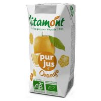 Orange juice vitamont - 6 x 20cl - Biocop