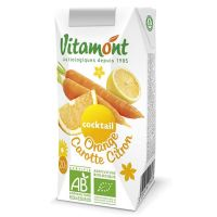 Orange juice-carrot-lemon vitamont - 6 x 20cl - Biocop