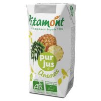 Pineapple juice vitamont - 6 x 20cl - Biocop