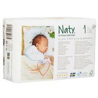 Naty diaper n1 from 2 to 5 kg - 26 units
