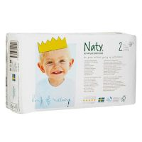 Naty diaper n2 from 3 to 6 kg - 34 units - Biocop