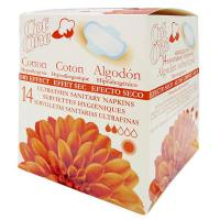 Day sanitary napkins with wings cot one - 14 units - Faites vos achats online sur MASmusculo