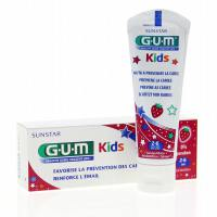 Kids dentífrico gel (2-6 años) fresa - 50 ml [GUM]