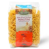 Minutini with carrot and pumpkin - 250 g - Bioidea