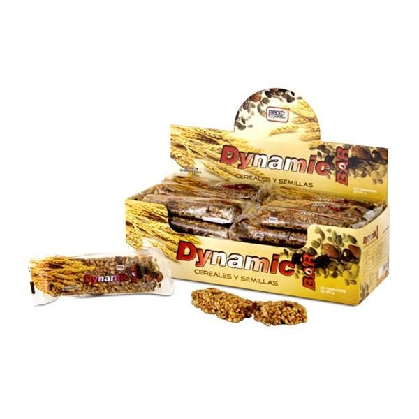 Barrita de Cereales con Semillas Dynamic Bar- 50 g de la marca Best Protein (Barritas de Carbohidratos)