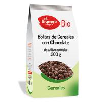 Cereal balls with chocolate bio - 200 g