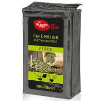 Green coffee 100% robusta ground bio - 400 g- Buy Online at MOREmuscle