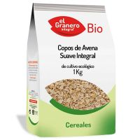 Soft integral oat flakes bio - 1 kg