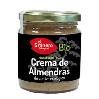 Almond cream bio - 230 g - El Granero Integral