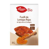 Red lentil fusilli bio - 250 g - Kaufe Online bei MOREmuscle