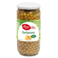 Cooked chickpeas bio - 660 g