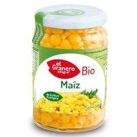 Sweet corn cooked bio - 369 g