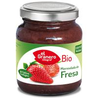 Strawberry jam bio - 330 g - El Granero Integral