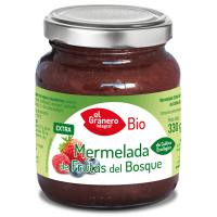 Fruit of the forest jam bio - 330 g - Kaufe Online bei MOREmuscle