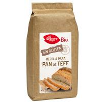 Blend for teff bread free gluten bio - 450 g - El Granero Integral
