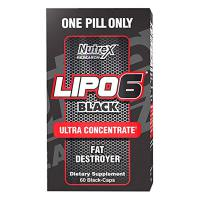 Lipo - 6 Black Ultra Concentrate - 60 capsules- Buy Online at MOREmuscle