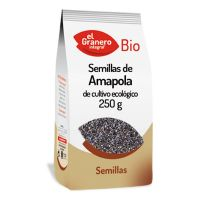 Poppy seeds bio - 250 g - El Granero Integral