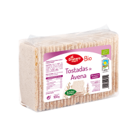 Oats crackers bio - 100 g - El Granero Integral