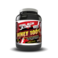 Black line - whey 100% whey protein - 2.04 kg [Perfect]