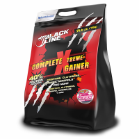Black line - complete xtreme gainer - 3.17 kg- Buy Online at MOREmuscle
