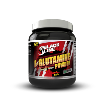 Black line l-glutamine powder - 454 g