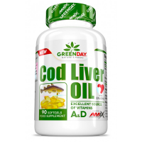 Cod liver oil - 90 capsules - Amix GreenDay