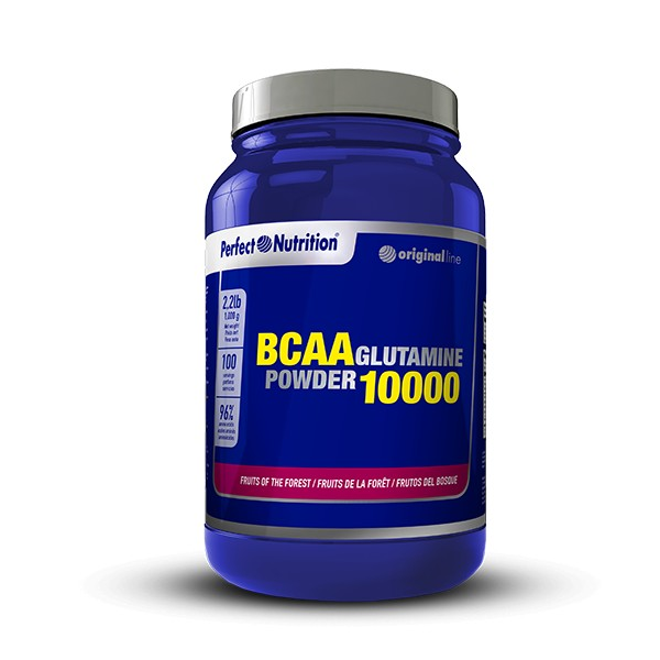 Bcaa 10000 + glutamina powder de 1 kg de Perfect Nutrition (BCAA + Glutamina)