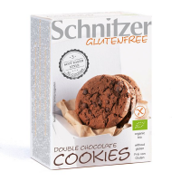 Organic black chocolate cookie gluten free - 105 g - Schnitzer