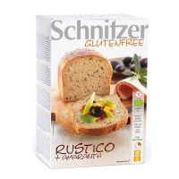 Rustico bread with amaranth gluten free bio - 2 x 250 g