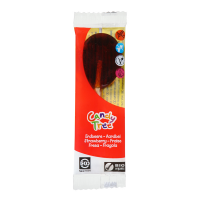 Organic strawberry lollipop - 12 g - Corn Candies