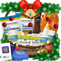 Healthy christmas basket - Kaufe Online bei MOREmuscle