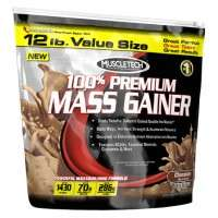 100% Premium Mass Gainer - 5.44 kg - Muscletech