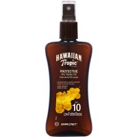 Hawaiian Tropic Protective Dry Spray Oil Spf10 Low 200ml - Hawaiian Tropic
