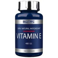 Vitamina E (400 NE) 100Vcaps - Scitec Essentials