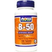 B 50 - 100 tabs - Kaufe Online bei MOREmuscle