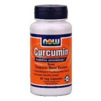 Curcumin Turmeric Root Extract 95% - 60 vcaps - Now Foods