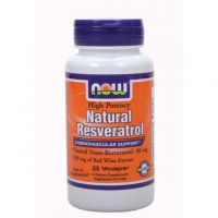 Natural Resveratrol - 60vcaps - Now Foods