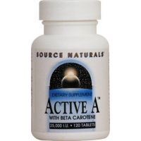 Active A + Beta Carotene - 60 tabs