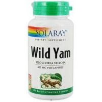 Wild Yam Root 400mg - 100 caps