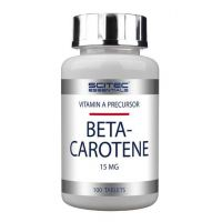 Beta-Caroteno 15 mg Vitamina A- 90 cps - Scitec Essentials