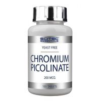Picolinate de Chrome - 100 comprimés - Scitec Essentials