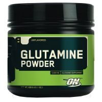 Glutamina en polvo - 600 g - Optimum Nutrition