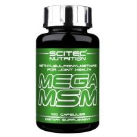Mega MSM - 100 capsules- Buy Online at MOREmuscle