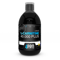 L-Carnitina 40.000 Plus Liquida - 500ml [4pro nutrition] - 4PRO Nutrition