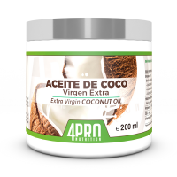 Extra virgin coconut oil - 200ml - 4PRO Nutrition