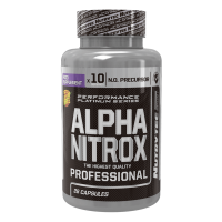 Alpha nitrox - 28 capsules- Buy Online at MOREmuscle