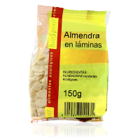 Organic almond in sheets - 150 g - Compre online em MASmusculo