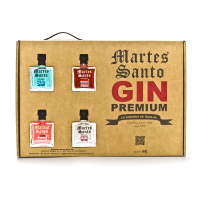 Case with 4 Mini Gins - Martes Santo - Martes Santo