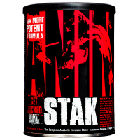 Animal Stak de  21 packs de la marca Animal (Complejos Testosterona)